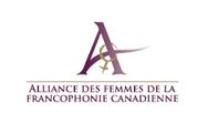 Logo Alliance des femmes de la francophonie canadienne